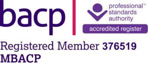 BACP Logo - Lara Jackson member number 376519